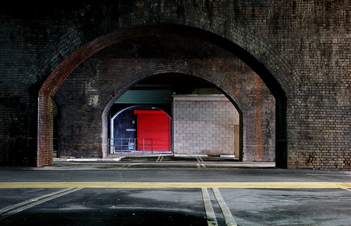 photoblog image Red Exit